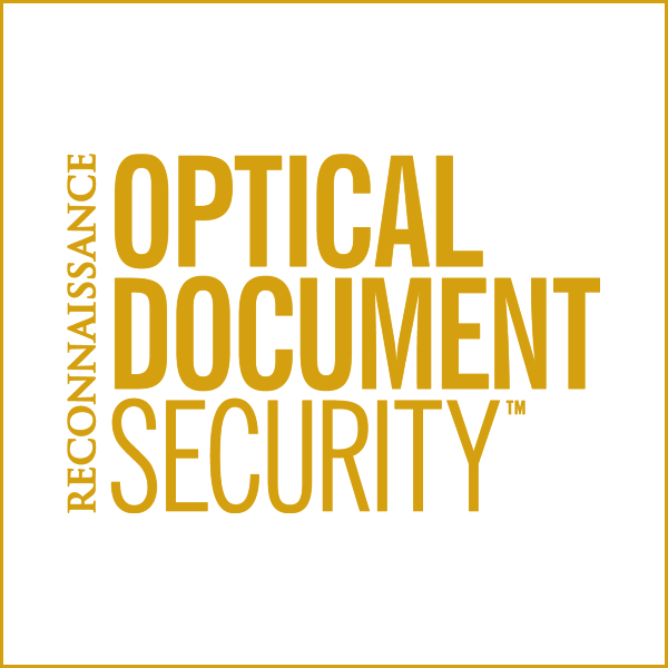 Optical Document Security Eptainks