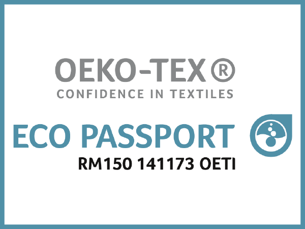 Eco Passport Oekotex Eptainks