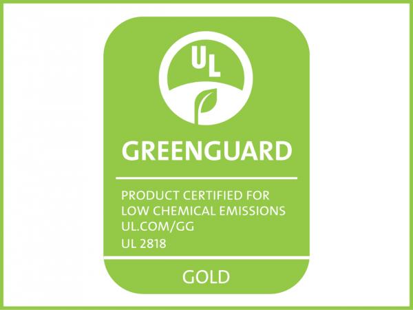 Greenguard Gold certificazione