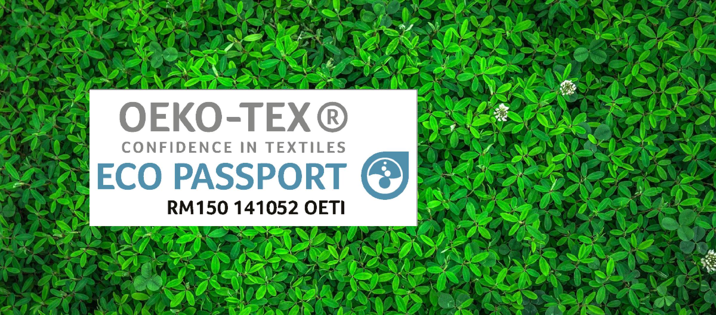 Eco-Passport Oeko-Tex