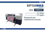 DGI FT-1608 e FT-1908   Stampanti per sublimazione tessile